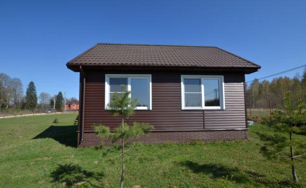 Новый коттедж в современном охраняемом поселке ДНП «Морозко» 97 км от МКАД